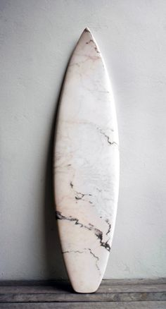 Marble(d) surfboard