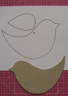 Bird template printable bing images tons of bird templates on this link for fondant cutouts diy projects – Artofit Bird Crafts, Easter Crafts, Felt Crafts, Diy And Crafts, Christmas Crafts, Crafts For Kids, Arts And Crafts, Paper Birds, Felt Birds