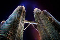 Kuala Lumpur Urban Scene Malaysia by dietrichherlan Kuala Lumpur, Places Ive Been, Zip Around Wallet, Scene, Urban, Architecture, Travel, Skyscrapers, Towers