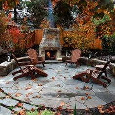 Let your pool be the focal point for the summer and a fireplace for the winter. Use your patio all year!