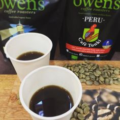 Almost a sell out on our #newblend The Light Room #tasters #coffee #stives #fresh #organic #freshroastcoffee