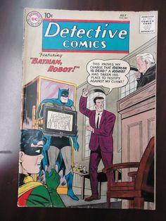 DC Detective Comics Issue 281 Batman Robot Graded VG FN | eBay