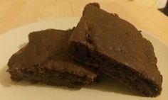 Nízkotučné cuketové brownies