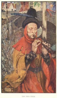 The Pied Piper (1909) by Eleanor Fortescue Brickdale