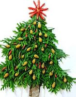 Fabulous 4th Grade Froggies: Can't have your students make a Christmas tree? How about creating a natural resource tree?