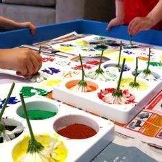 Spring Activities, Toddler Activities, Preschool Activities, Easy Toddler Crafts, Toddler Art, Infant Toddler, Art For Kids, Crafts For Kids, 4 Kids