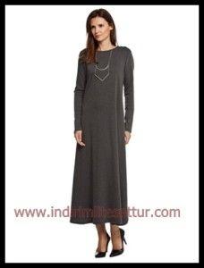 elsiva uzun tesettür elbise