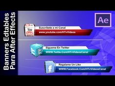 Banners editables para tu canal l Youtube - YouTube
