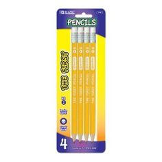 BAZIC #2 The First Jumbo Premium Yellow Pencil, Yellow, 4 Per Pack (Office Product) http://www.amazon.com/dp/B003BLQH7A/?tag=dismp4pla-20