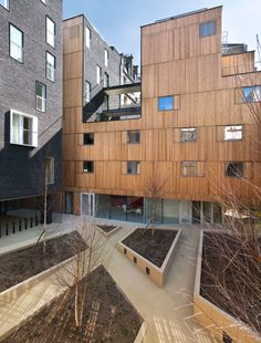 Student Residence in Paris / LAN Architecture