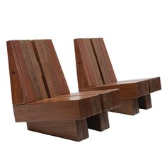 Vazada Chairs by Zanini de Zanine | From a unique collection of antique and modern lounge chairs at https://www.1stdibs.com/furniture/seating/lounge-chairs/
