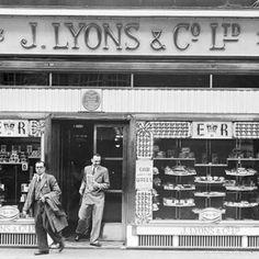 Vintage photo, London