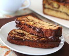 Low Carb Chocolate Orange Bread @dreamaboutfood