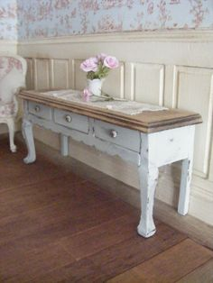 12th scale french style table