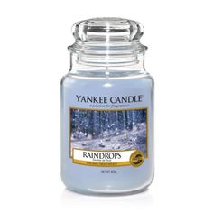 Raindrops : Large Jar Candle : Yankee Candle