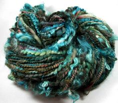 Beautiful handspun art yarn