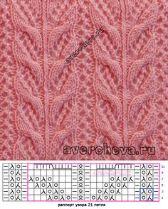 This Pin was discovered by tul - Strickmuster Anleitung Lace Knitting Stitches, Lace Knitting Patterns, Cable Knitting, Knitting Charts, Knitting Socks, Stitch Patterns, Diy Crafts Knitting, Crochet Socks, Free Crochet