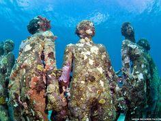 museu no fundo do mar México