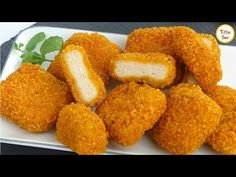 Today's recipe is Kids favorite chicken nuggets. It's a very tasty and popular snacks. Homemade chicken nuggets are healthier and tastier than t. Homemade Chicken Nuggets, Chicken Snacks, Chicken Nugget Recipes, Chicken Recipes For Kids, Spicy Chicken Recipes, Food Network Recipes, Cooking Recipes, Tiffin Box, Nuggets Recipe