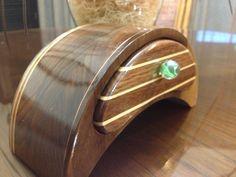 Maple and mahogany bandsaw box