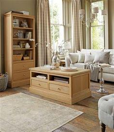Shaftesbury Oak Living Room