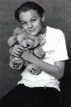 Teddy Bear Hugging Leo | The 28 Different Types Of Leonardo DiCaprio