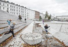 Platz von COBE in Kopenhagen / Teppich mit Treppen - Architektur und Architekten - News / Meldungen / Nachrichten - BauNetz.de