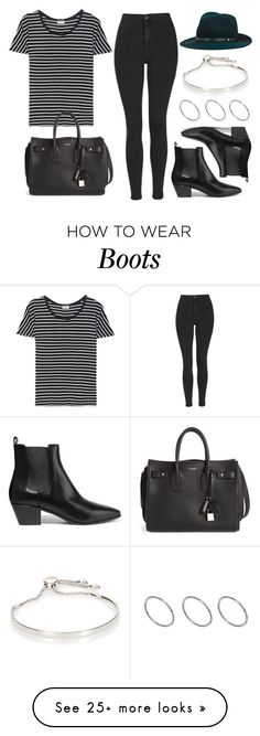 """Sin título #12454"" by vany-alvarado on Polyvore featuring Topshop, Yves Saint Laurent, rag & bone, Monica Vinader and ASOS"
