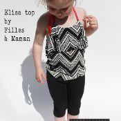 ELISA 30 minutes halter top - via @Craftsy