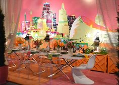 2012 DIFFA Dining by Design - imagined and executed by the Halls creative team