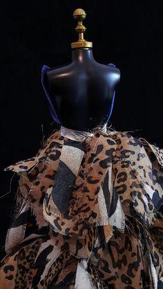 Vestido Oncinha #dress #doll #vestido #boneca #barbie #oncinha #blue