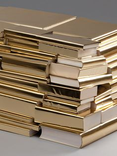 gilded books - would be spectacular on shelves/bookcase