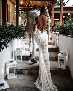Rhiannon - Queen of Hearts - Bridal Dresses This is what we like to call perfection - the unbelievably stunning back of our couture Galia Lahav mermaid wedding dress made of crochet beaded lace and a vintage rose pattern. Lace Mermaid Wedding Dress, Gorgeous Wedding Dress, Mermaid Dresses, Dream Wedding Dresses, Boho Wedding, Bridal Dresses, Wedding Gowns, Mermaid Gown, Peacock Wedding