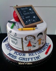 1000+ images about School Cakes on Pinterest | Back to ...