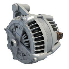 Car Alternator Engine Part ~ Model Engineering, 3d, Industrial, Models, Products, Technology, Model, Modeling, Girl Models