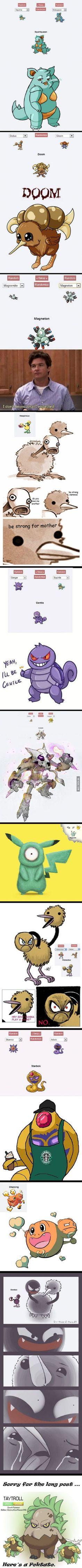 11 creepiest Pokémon Fusions ever