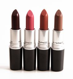 MAC The Matte Lip Lipsticks | 7 Gorgeous Matte Lipsticks For Spring, check it out at http://makeuptutorials.com/best-matte-lipsticks-makeup-tutorials