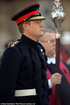 Prince Harry opens The Field of Remembrance at Westminster Abbey - The royal, who is himself a Captain in the Household Cavalry, attended a ceremony at the Field of Remembrance in London's Westminster Abbey - 6th November 2014