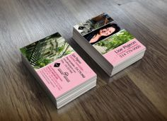 Cartes d'affaires - Lise Pigeon, courtier immobilier. Inclus la conception d'une image de marque.