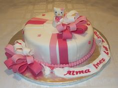 Emmas KakeDesign: Hello Kitty bursdagskake