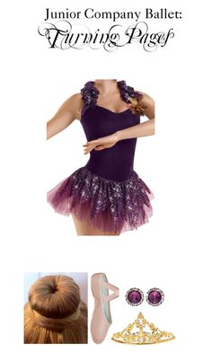 """0439. Junior Company Ballet"" by hiimmichelle on Polyvore featuring Bloch"