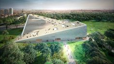 Gallery–Ludwig Museum :The largest museum initiative has garnered two winning entries. SANAA and Snøhetta have created proposals for Budapest's New National gallery and Museum.