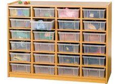 Tutor Warehouse Catalogue: Storage Unit and 24 Small Trays