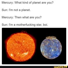 This is adorable :) Funny Pranks, Funny Texts, Funny Jokes, Hilarious, Sad Comics, Solar System, R Memes, Boi, Funny People