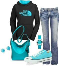 """Cute """"sporty"""" look for cold days"""