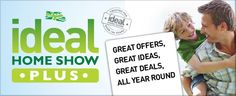 We're at the Ideal Home Show 14th - 18th November 2012