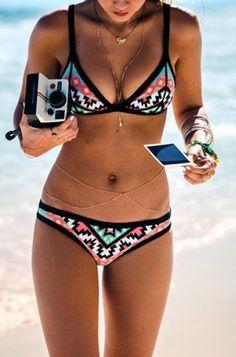 7b29bc90f920c 2016 New Fashion Brazilian ( ^ ^)っ Retro Geometric Bikini Swim Suits Sexy  ヾ(^▽^)ノ Printing Swimwear Brazilian Biquini Maillot De Bain 2016 New ...