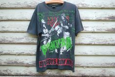 90s Vintage Pantera Cowboys From Hell T Shirt Faded Heavy Metal Grunge Official Merchandise Rare Tee Vtg Top 1990s Shirt Size L-XL