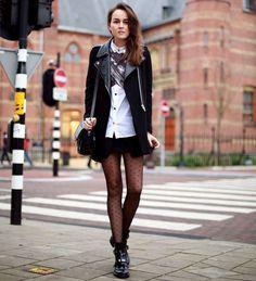 street-style-polkadot-tights