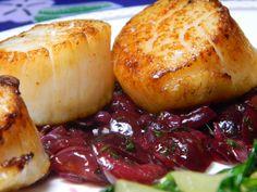 cherry tarragon sauce more seafood recipes seared sea sea scallops ...